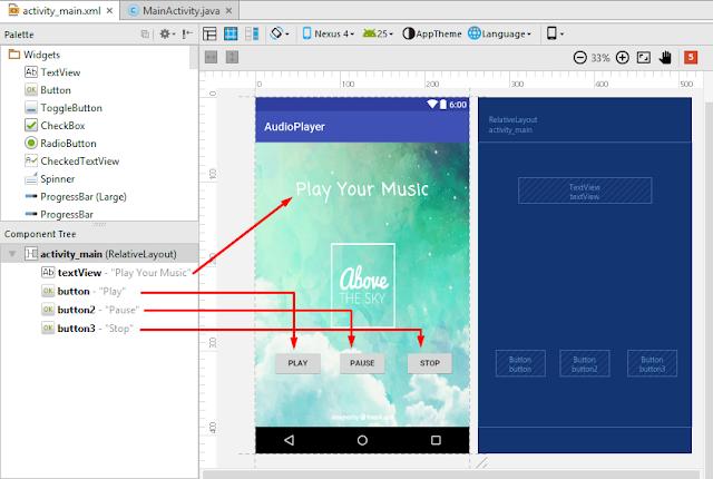 Cara Membuat Aplikasi Audio Player Keren Dengan Android Studio