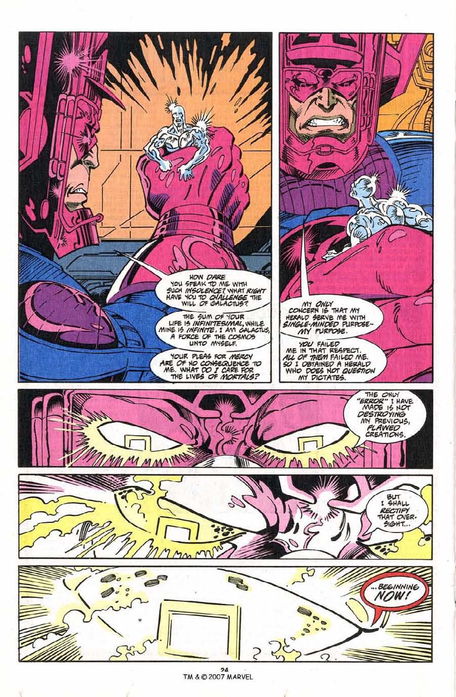 Read online Silver Surfer (1987) comic -  Issue #75 - 26