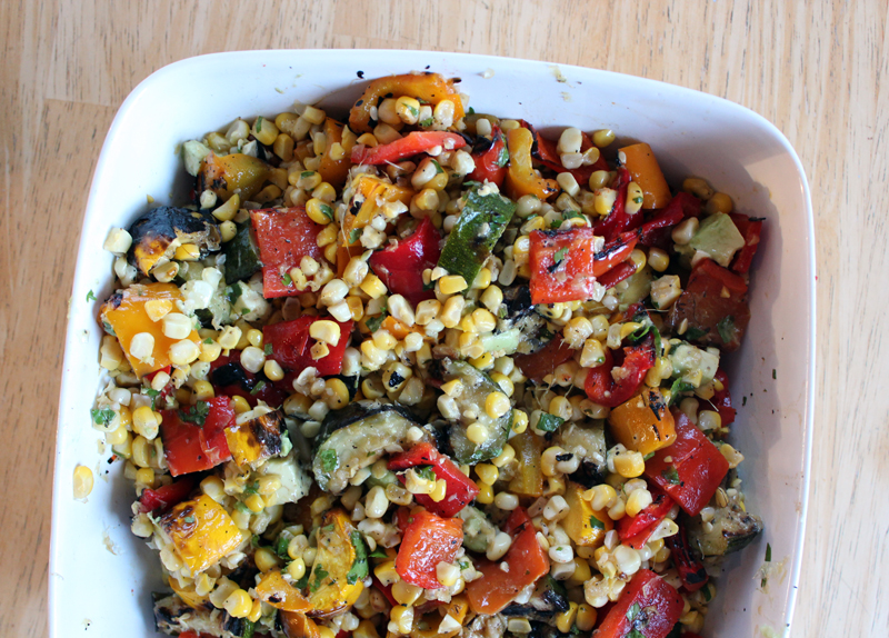 Long Weekend Grilled Salad from The Oh She Glows Cookbook