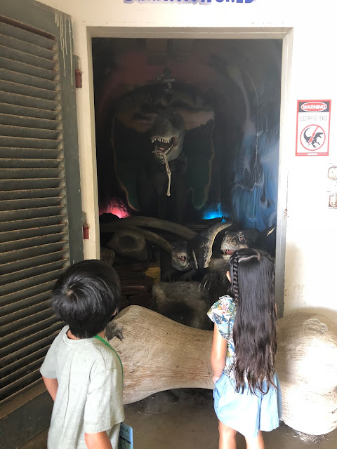 Mama Sahrang Battery Cooper Kualoa Ranch TRex animatronic