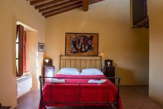 B&B Podere Rosignano - camera rossa