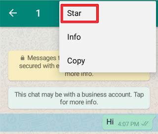 how to save message in separate list