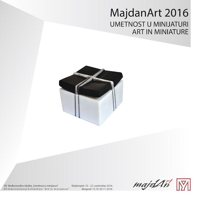 """Umetnost u minijaturi MajdanArt 2016"""