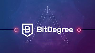 تعرف على عملة BitDegree ICO  مشروع جديد للتعلم اون لاين عبر البلوكشين و الربح من الاستثمار فيها