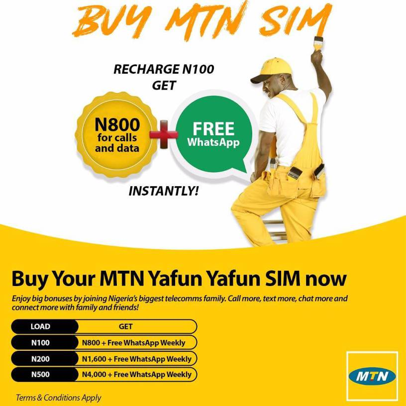 ANOTHER MTN YAFUN YAFUN SIM BONUS LOGO