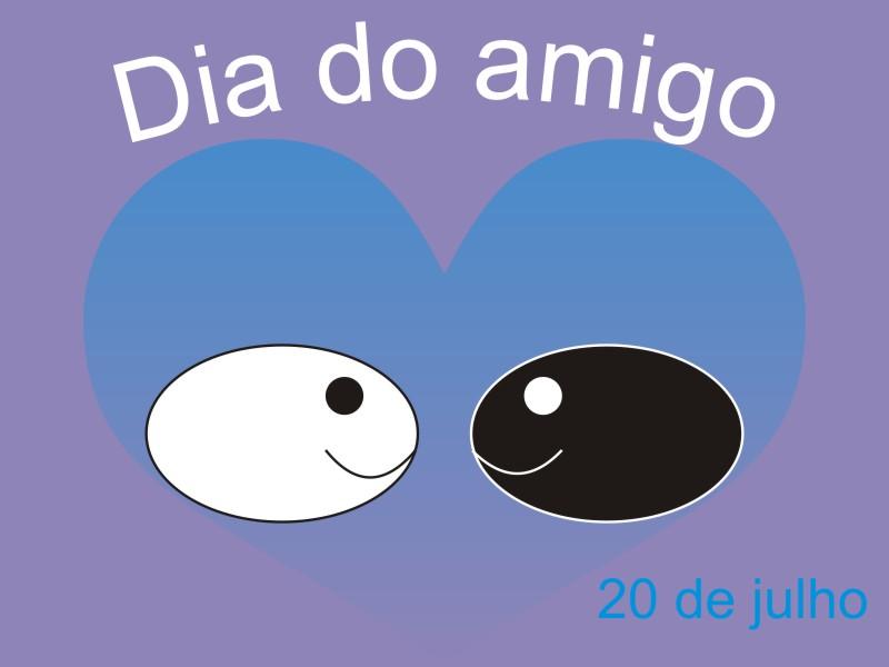 Dia Do Amigo Desenho Desenho Dg