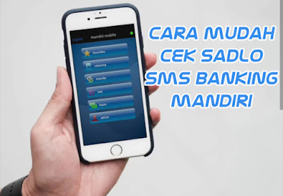 cek saldo sms banking mandiri