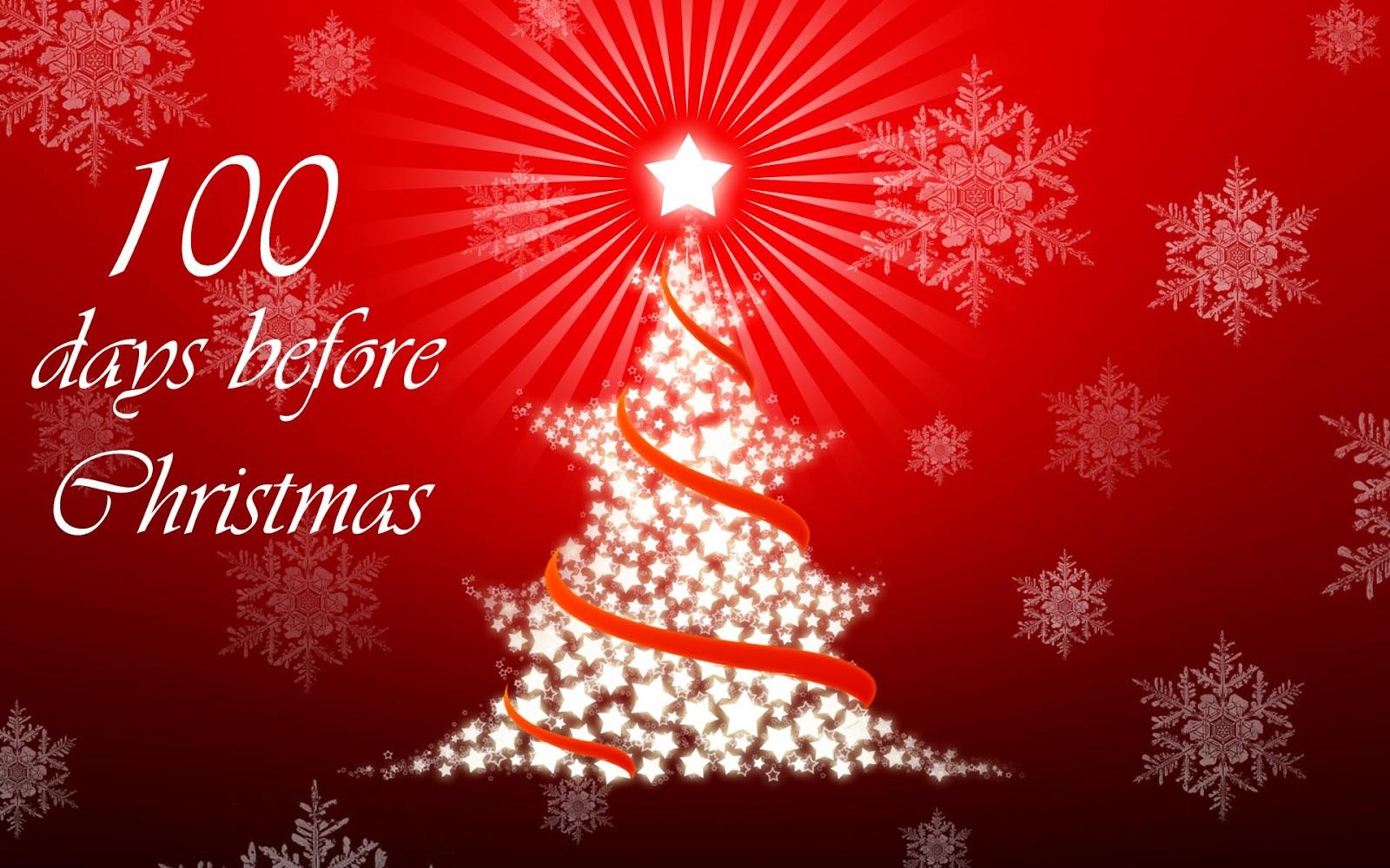 today is exactly 100 days to christmas you can be as rich as you want for christmas and have a great time with family and friends on that day by following