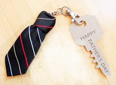 Como hacer un Llavero-Corbata para Hombres