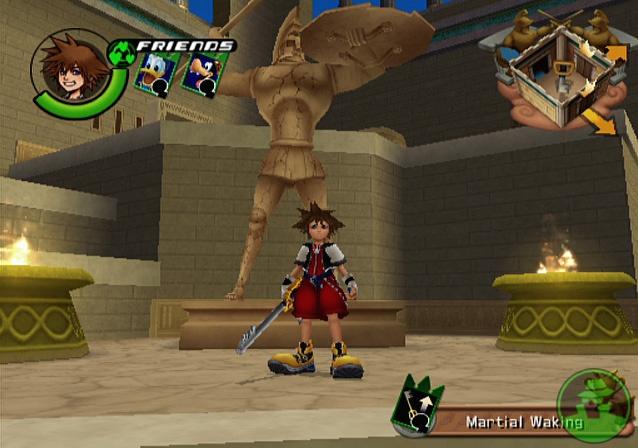 Kingdom Hearts PS2 GAME ISO Screenshot 1