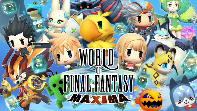 world of final fantasy maxima square enix