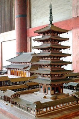 13th-century Nara Chinese style pagoda reached unparalleled dimensions