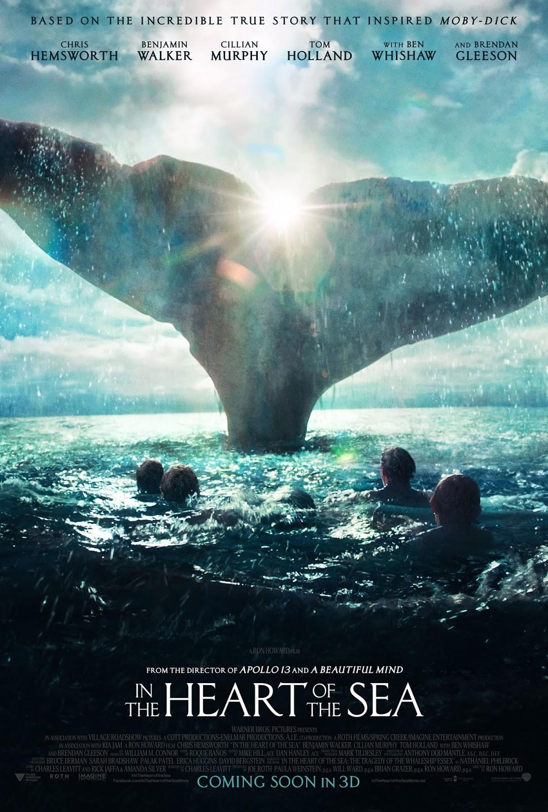 ตัวอย่างหนังใหม่ :  In the Heart of the Sea (หัวใจเพชฌฆาตวาฬมหาสมุทร) ตัวอย่างที่ 3 ซับไทย poster