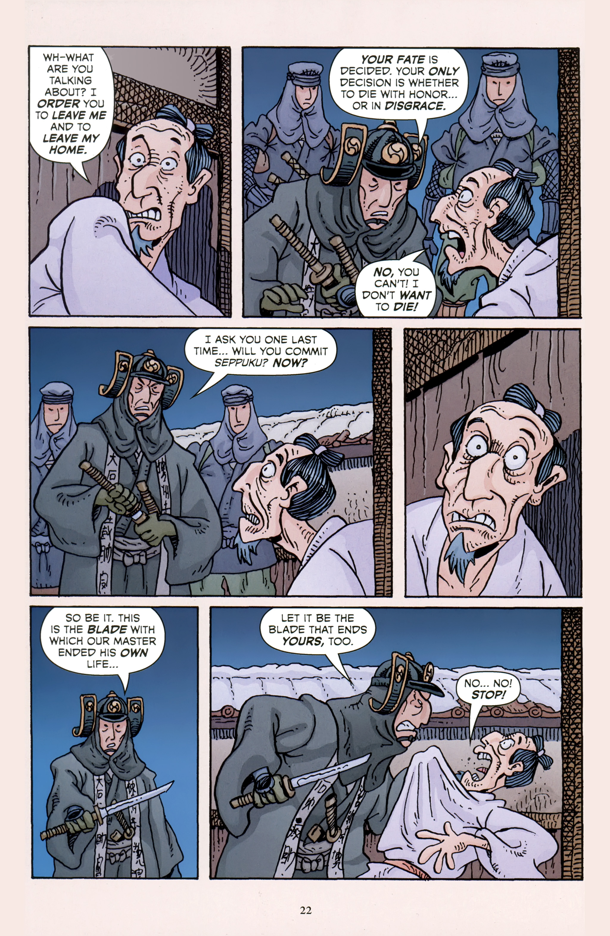 Read online 47 Ronin comic -  Issue #5 - 24