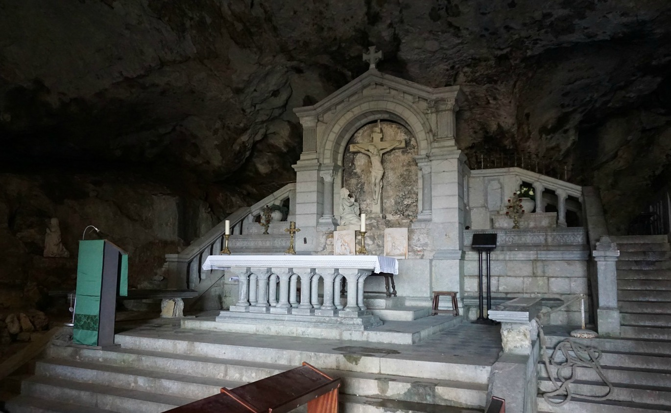 Cave of Maria Magdalene in Sainte-Baume