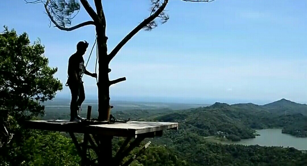 Wisata alam Kalibiru yogyakarta