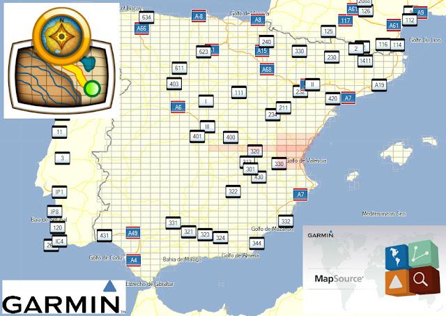 Dandolo Todo Mapas Topograficos Espana Gps Garmin