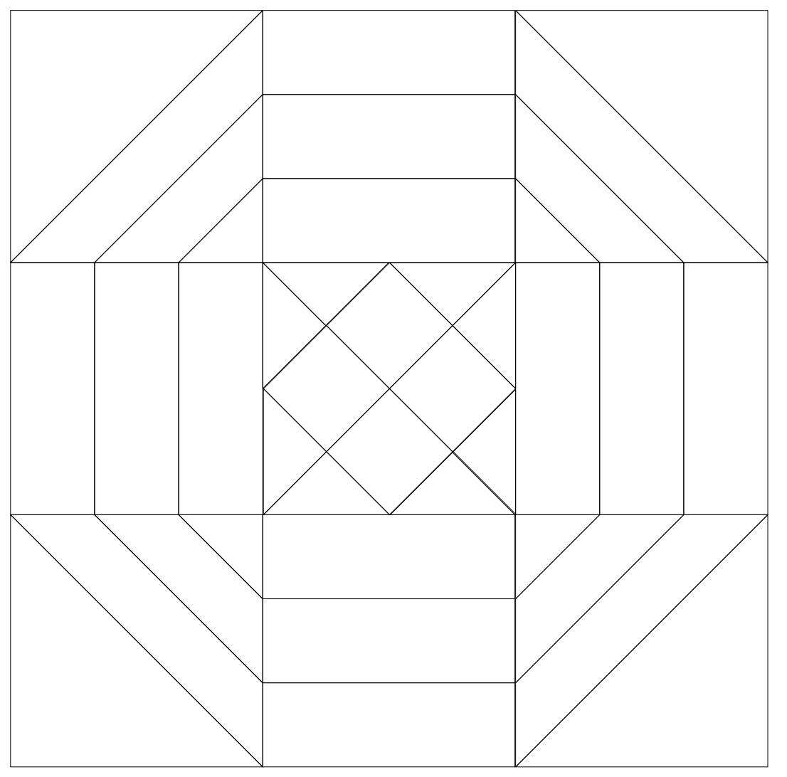 Imaginesque Quilting Pattern Block 25