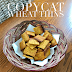 Copycat Wheat Thins #RecipeMakeover