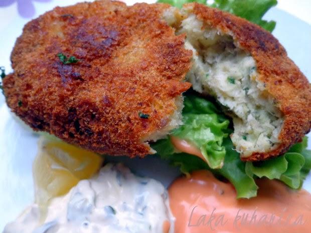 Perfect fish cakes by Laka kuharica: a perfect, delicious combination of flavor and texture.