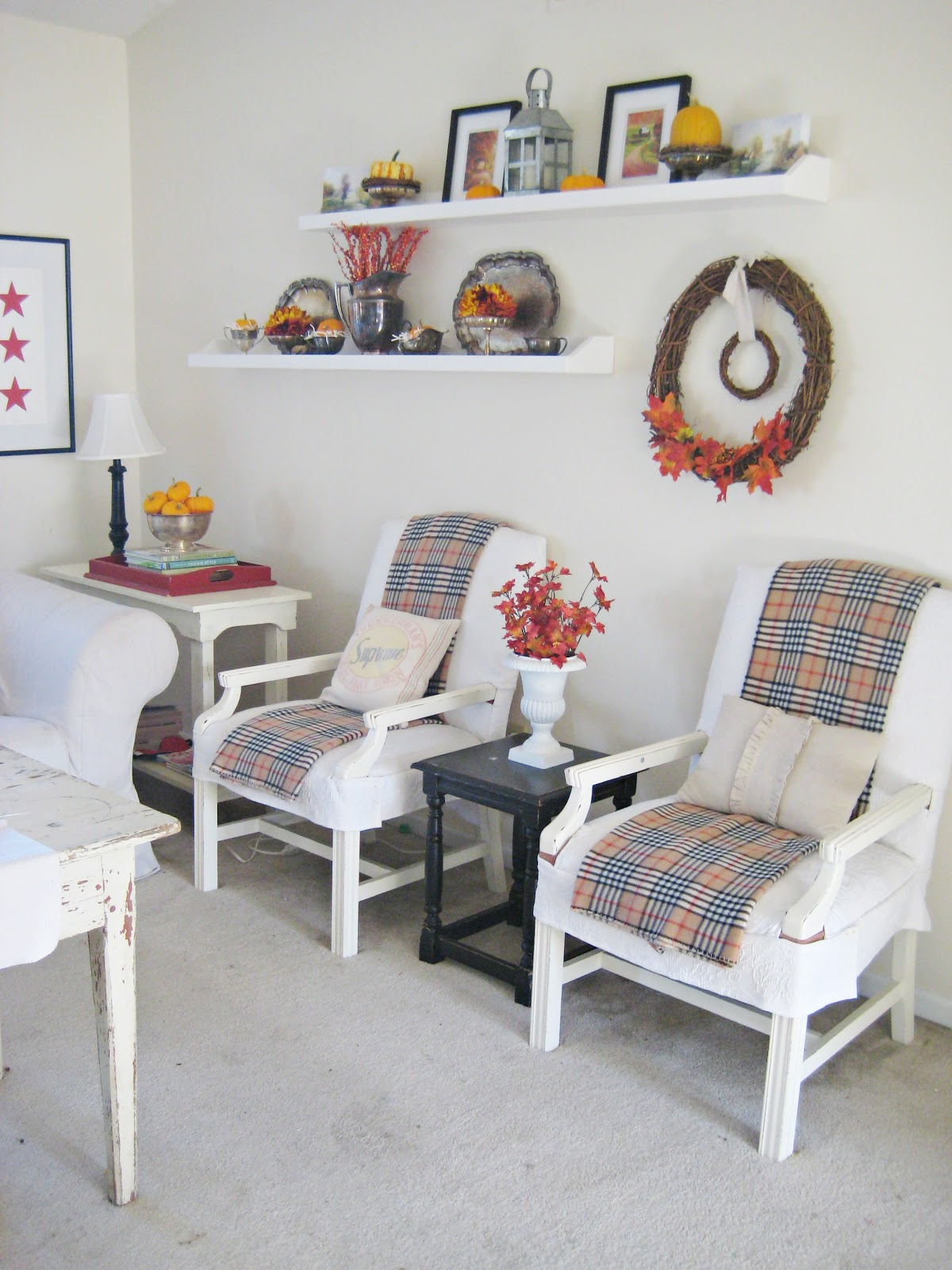 Autumn Living Room Decorating: Happy At Home: The Autumn Living Room