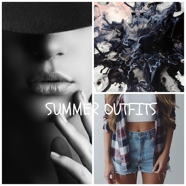 Summer outfits ⚫️