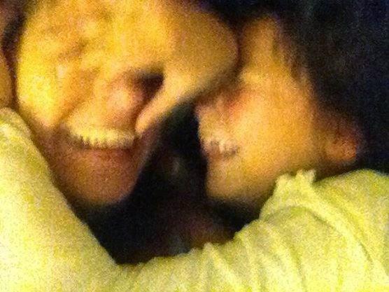 Eu e Ela. Miminhos Felizes.