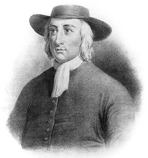 Engraving of George Fox
