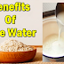 Health Benefits of Rice Water and Its Uses