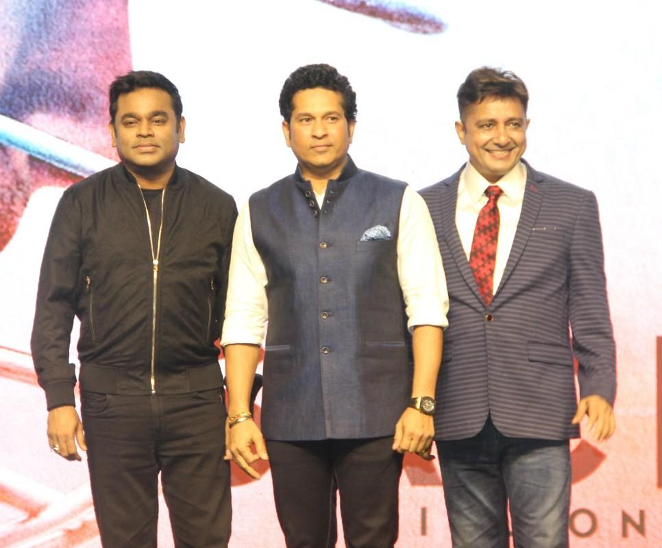 AR Rahman at 'Sachin: A Billion Dreams' Movie Song Launch