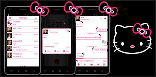 tema sms hello kitty