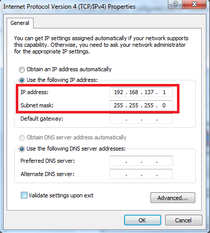 Fix a Lan Connection is Already Configured with IP Address