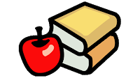 apple book clipart
