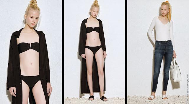 Bikinis de moda 2018. Ropa de moda 2018.