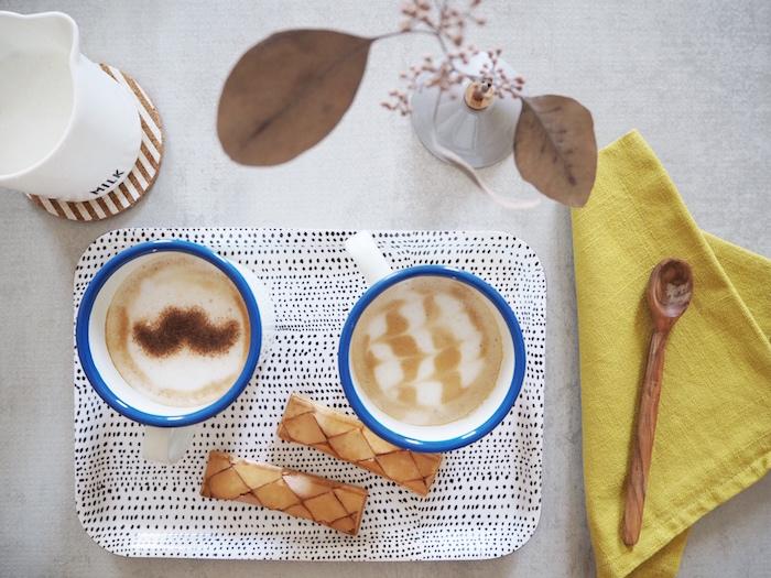 Cappuccino artistico: un tocco in più a latte e caffè
