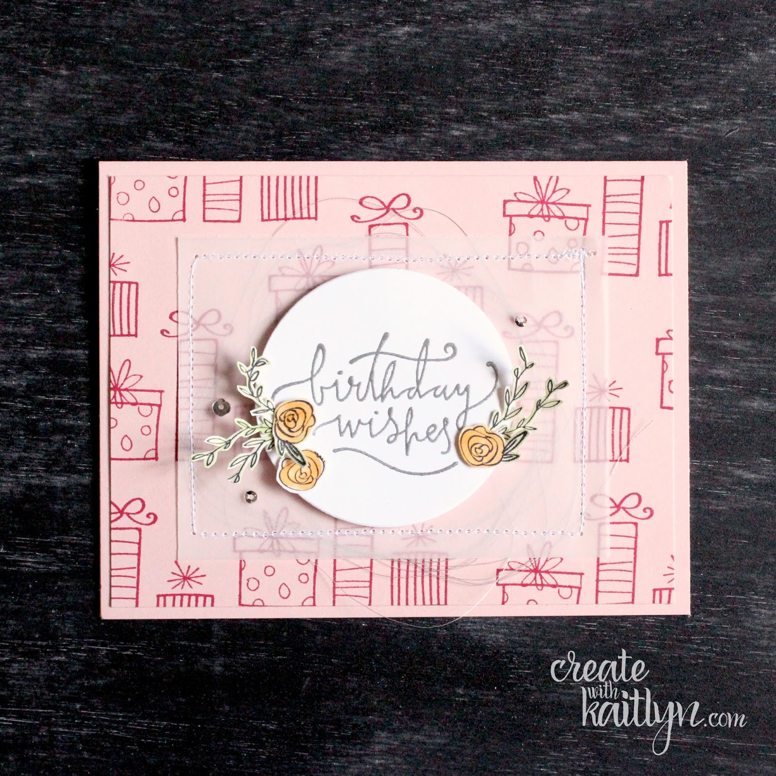 I Am In Love With How Pretty The Happiest Days Stamp Set Is It Most Perfect For Creating Really Special Birthday Cards