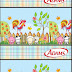 Baby Farm in Light Blue: Free Printable Candy Bar Labels.
