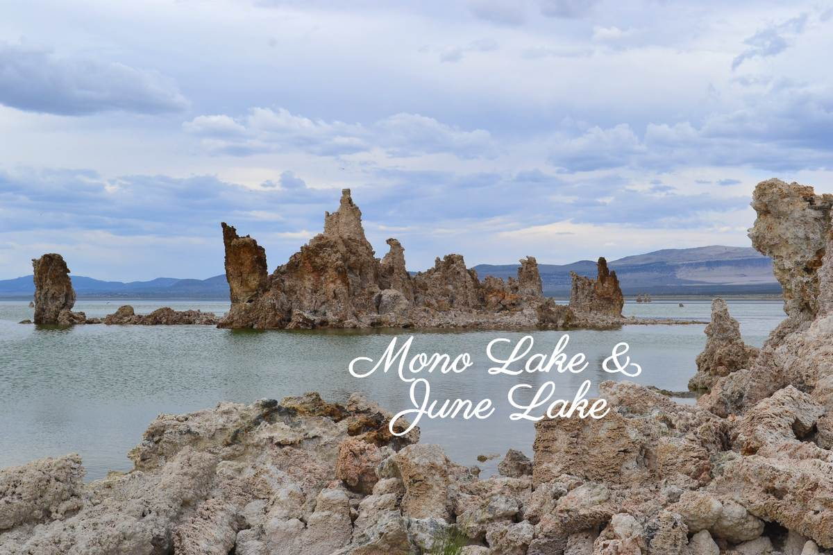 Panorama sur Mono Lake