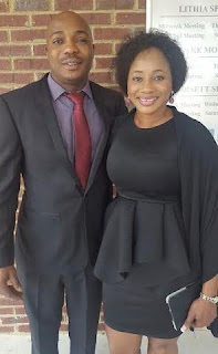 Clarion Chukwurah and her husband Anthony Boyd