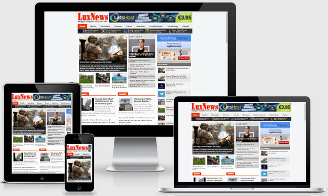 Lux News Blogger Templates