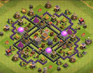 Base CoC TH 8 paling kuat