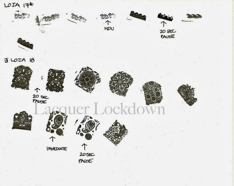 Lacquer Lockdown Loja Bbf Nail Art Stamping Plates