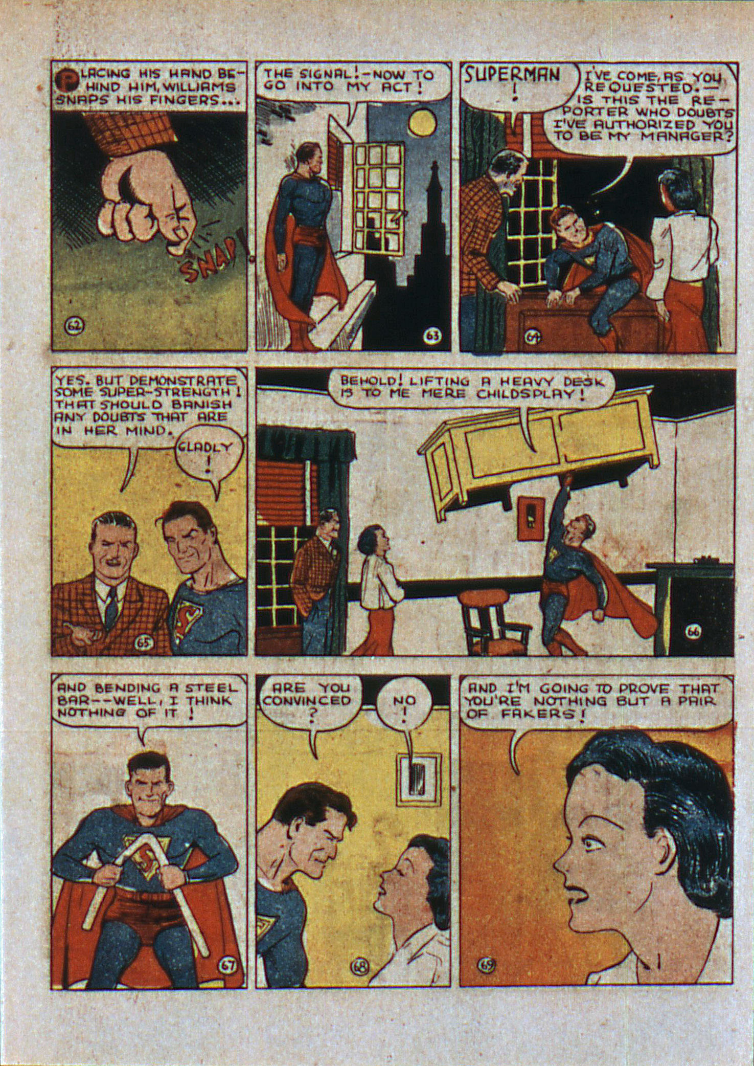 Read online Action Comics (1938) comic -  Issue #6 - 12
