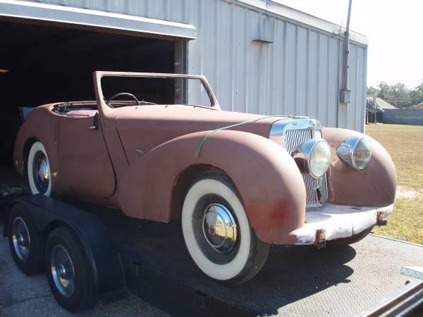Restoration Project Cars Triumph