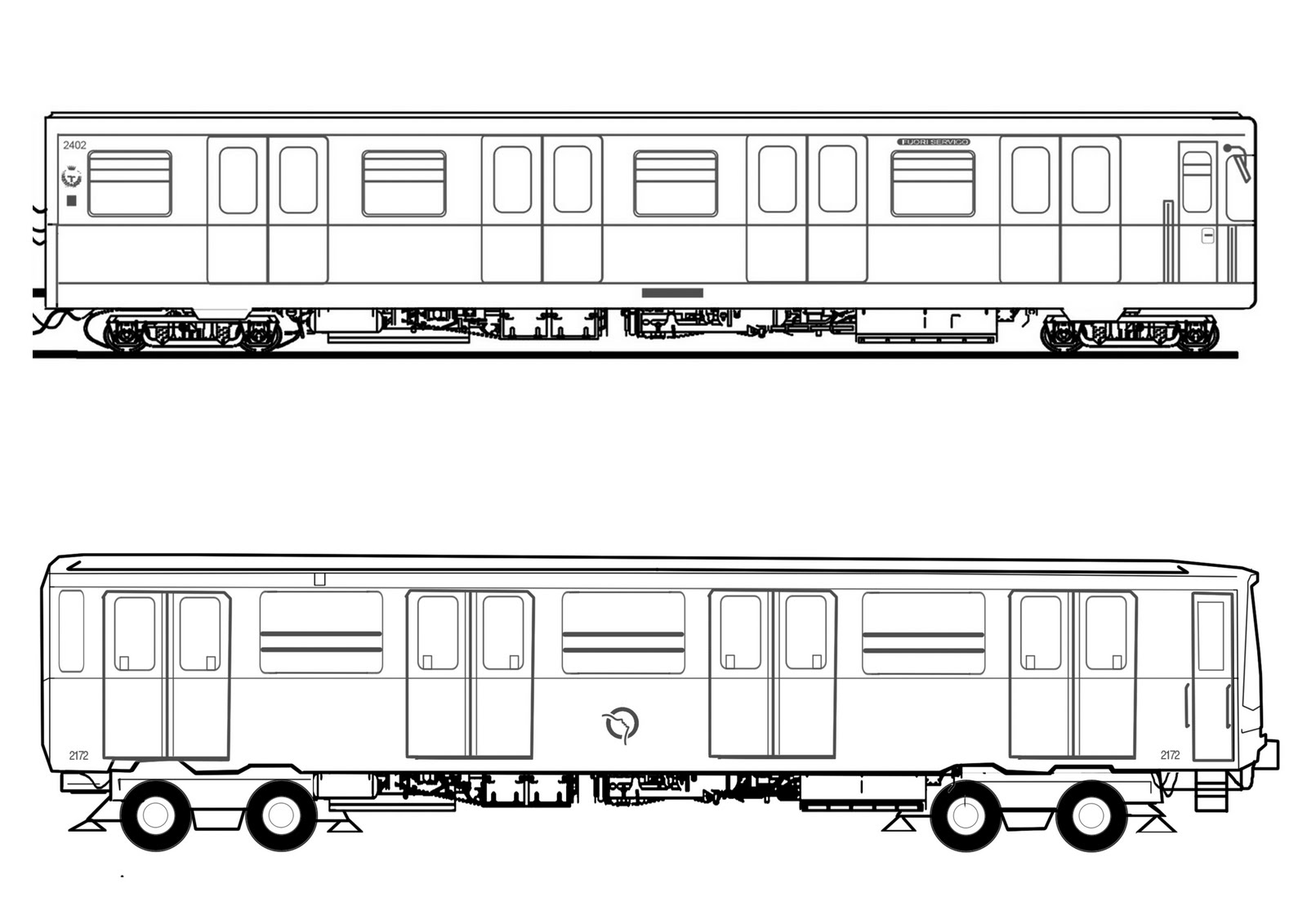 trein kleurplaat ns kleurplaat kerstman in een oude