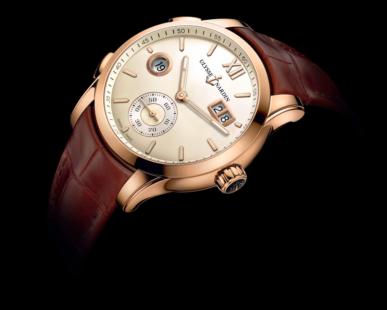 Ullysse Nardin Dual Time Manufacture4