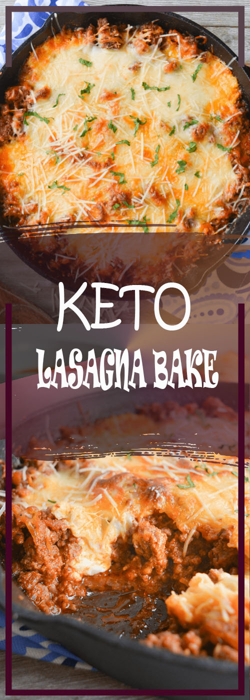 KETO LASAGNA BAKE RECIPE