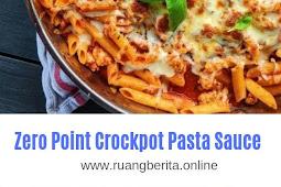 Zero Point Crockpot Pasta Sauce