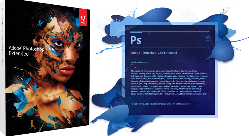 Adobe Photoshop CS6 Extended + Serial Number
