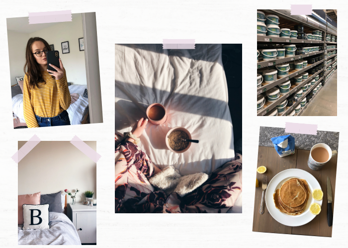 A lifestyle roundup of my week at university featuring all I've bought, watched, eaten, seen and been up to. Featuring my 1 week on dairy-free update, moving my room around and the realities of third year